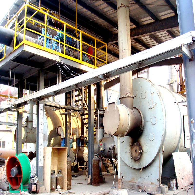 天津钢铁公司低氮燃烧器现场