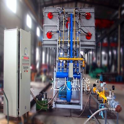 东方电工五包组合式烘烤器出厂调试
