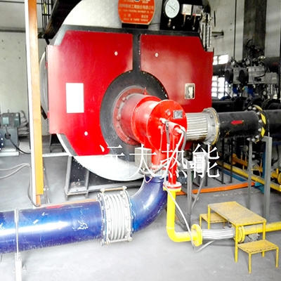 出口马来西亚锅炉双燃料燃烧器系统用户现场
