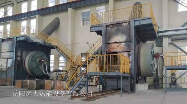 安徽铜冠有色金属(池州)公司贵铅炉及铋精炼燃烧系统设备