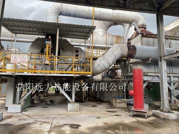 陕西延长石油集团氟硅化工有限公司煤气改为天然气技改项目燃烧系统现场