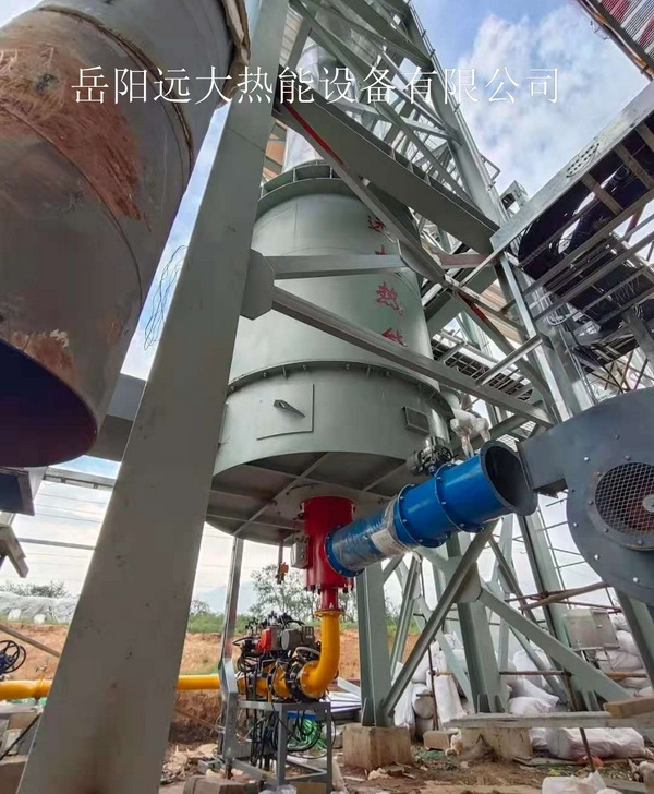安徽威达环保科技股份有限公司热风炉鸿达现场