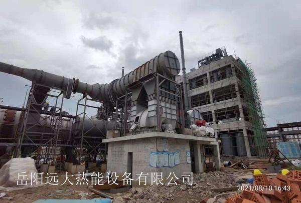 江西福化工有限公司氟化氢反应炉热风系统