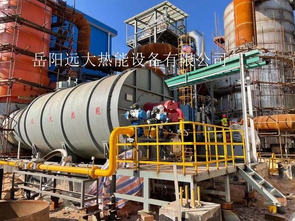 紫金矿业油改气开工炉现场