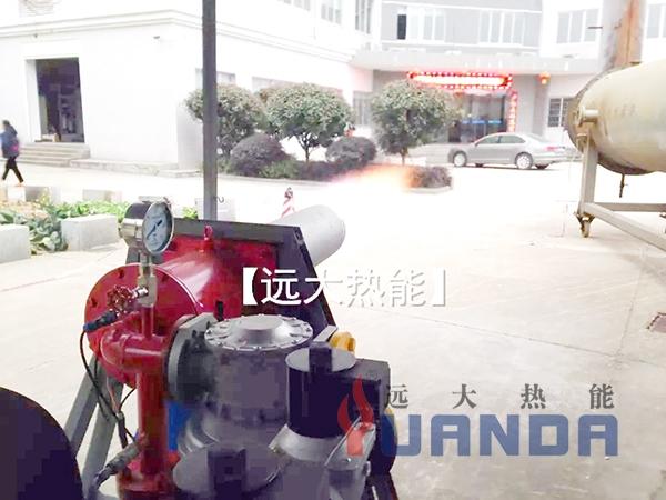 移动式燃烧器试火