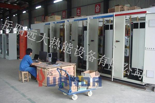 燃烧设备电气控制系统 (出厂前调试)