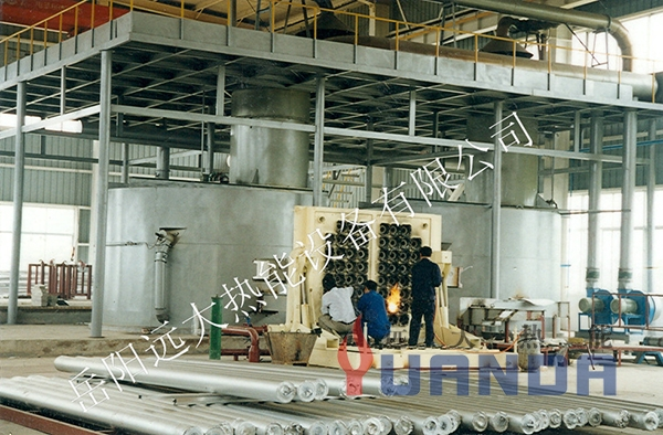 圆形预热式熔铝炉-1